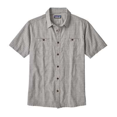 Camicie - Tino: Feather Grey - Uomo - Camicia Ms Back Step Shirt  Patagonia