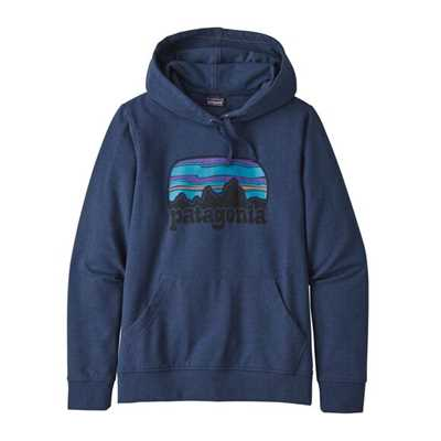 Felpe - Stone blue - Donna - Ws Fitz Roy Far Out Ahnya Hoody  Patagonia